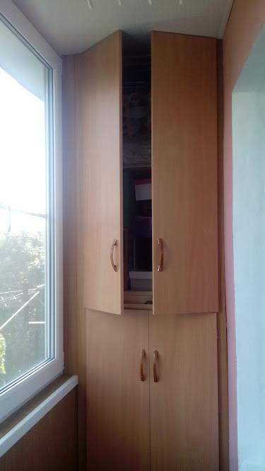 Мебель для балконов и лоджий .шкаф.тумба.рольставни..